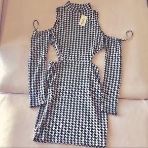 Forever 21 Black & White Checkered Dress